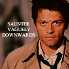 cowards_kiss: (castiel - saunter)