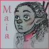 kaffyr: Young Maia listening to his mother (Wee Maia)