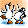 eeyorerin: (penguins dancing)