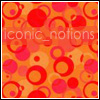 iconic_notions: (orange bubbles)