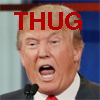 madfilkentist: The Thug-in-Chief of the United States. Feel free to use or adapt. (trump)