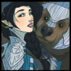 st_ubby: vex and trinket - art by kit buss (Default)