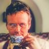 feliciacraft: Icon of Rupert Giles from BtVS sipping tea (giles tea)