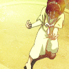 cerusee: a small black-haired girl in defensive a martial-arts pose (toph, bring it the fuck on, tough)