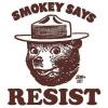 lbilover: (smokey says resist)