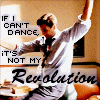 "wendelah1: Fox Mulder dancing plus quote by Emma Goldman (""If I can't dance..."")"