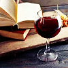 whisperwords: (aesthetic - reader - wine)