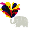 centaurie: art (elephant & colors)