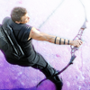 yourlibrarian: Hawkeye shoots his bow (AVEN-HawkeyeBow-isapiens.png)