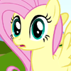 needs_fern: Fluttershy, wide-eyed but calm (oh my, what is that)