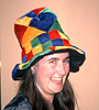 labelleizzy: (silly, hatwearing)