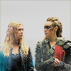 xjadedgrlx: Clarke and Lexa (The 100) (Default)