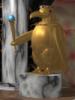 parityanimal: Golden Emperor Penguin statue holding sceptre (Default)