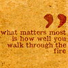 bexlogic: (walk through the fire)