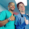 dinogrrl: JD and Turk thumbs up (Thumbs up! :D)