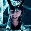 katsu: (Loki crazy grin)