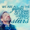 katsu: (In the gutter looking at the stars)