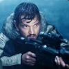 anghraine: cassian andor, preparing to assassinate galen erso with his sniper rifle (in the rain!) (cassian [eadu])