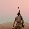 sohotrightnow: Rey at sunset ([sw] the call to adventure)