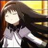 lovelyangel: Homura Akemi from Puella Magi Madoka Magica episode 5 (Homura Hair Flip)