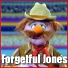 mousme: A picture of the muppet Forgetful Jones from Sesame Street (Forgetful Jones)