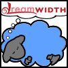 red_trillium: a blue Dreamwidth Sheep (DW sheep - Blue Dreamsheep)