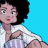 amarie24: (Eating/entertained Misty Knight)