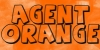 thnidu: logo of Agent Orange font (Agent Orange)