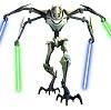 generalgrievous: (Four saber figure)