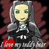 elkica: (I love my teddy bear)