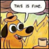 jengalicious: (This is fine)