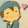 selarne: Luke from Layton with a heart ([PL] <3! hearts for you!)