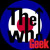 whogeek: The WhoGeek w/ blue/white/red target (I am a geek, I'm a geek)