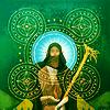 syntheid: [DAI] Solas's default tarot card (the hermit)