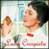 selectudydisipacion: El icono de Lady Croqueta (lady croqueta)