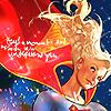 superheroine: Adam Hughes' Supergirl (i'm reaching for my star)
