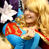 superheroine: myself as Supergirl (oh but the world is so brilliant)