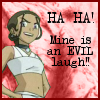 cutest_sandgirl: (katara evil laugh by stickxkeyblade)