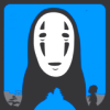 ninetydegrees: Drawing: No-Face from Spirited Away (no-face)
