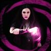 mcurollingremix: Wanda inside a swirl of chaos magic. (Wanda)