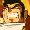 comic: Some dude whose name I forget from Gekiganger 3 from Martian Sucessor Nadesico cries manly tears. (;_____;)