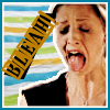 theladylazarus: Buffy making a face from Life Serial. (ick no)
