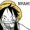 maxine_chan: (OP - Luffy nyah!)