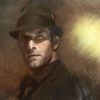 tinny: Joe Miller from The Expanse in his trusty hat (expanse_joe miller)