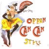 el_staplador: Can-can dancer; caption 'Oppan can can style' (can can style)