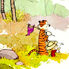 eillam: Calvin and Hobbes exploring the woods (Default)