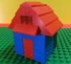 legohousesystem: a picture of a simple lego house (Default)