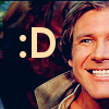 yappichick: (Star Wars: Han: Smile)