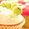 yappichick: (Food: Green/White Cupcake)
