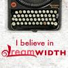 lanterne_rouee: i believe in dreamwidth plus a typewriter (dw believe typewriter)
